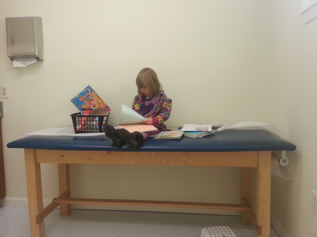 Lorelei at doctors