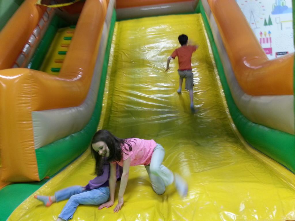 Huge slide
