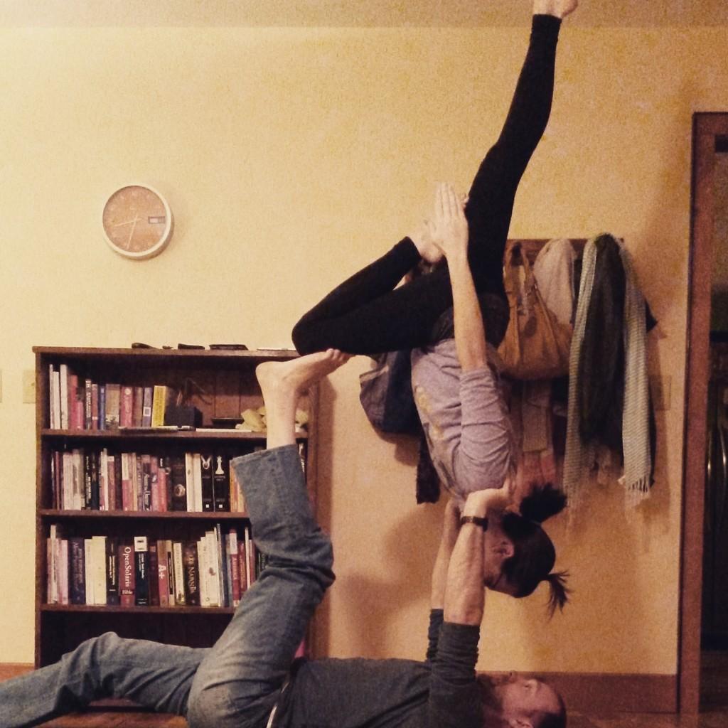 January yoga