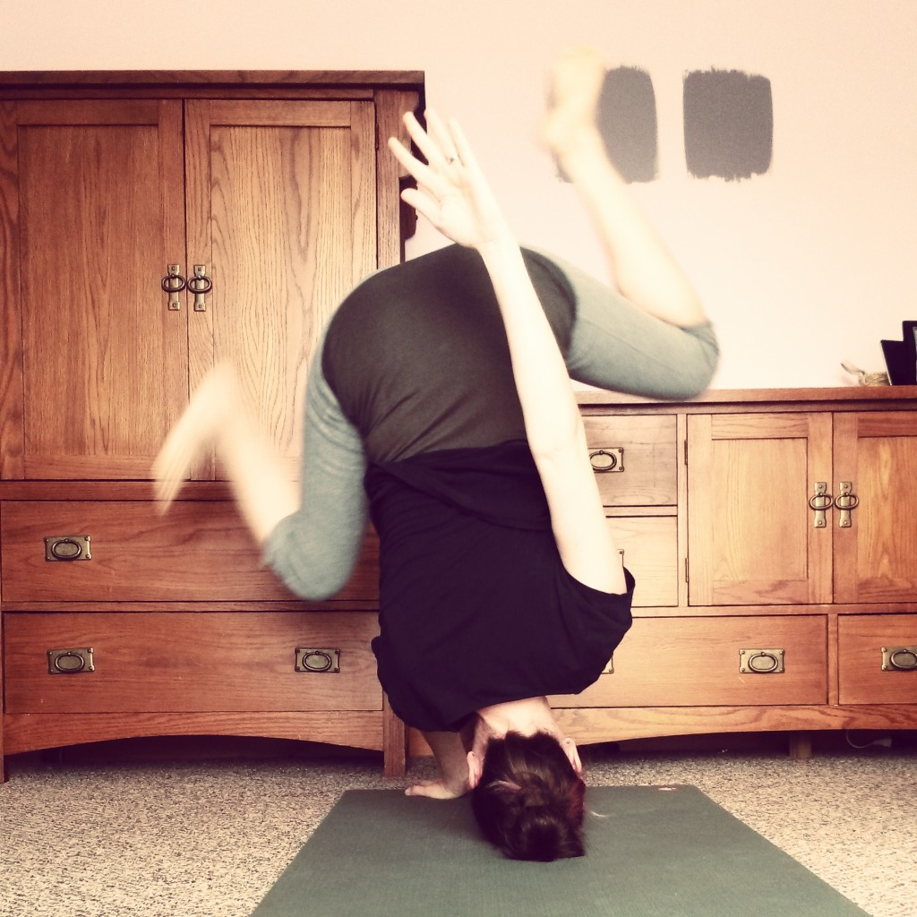 Pop up headstand